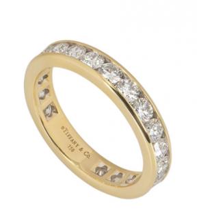 Tiffany & Co. Full Diamond Eternity Ring