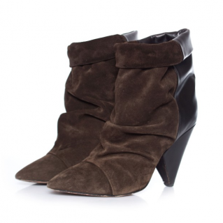 Isabel Marant Andrew suede & leather ankle boots
