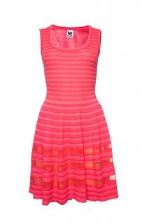 Missoni pink striped lurex dress