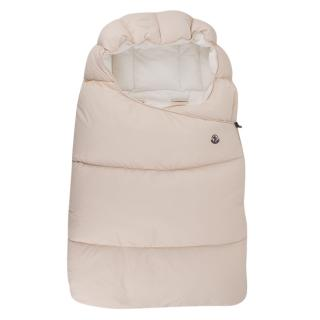Moncler enfant blush pink sleep bag