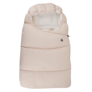Moncler enfant blush pink sleep bag
