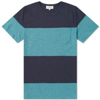 YMC Stripe Baja Pocket T-Shirt