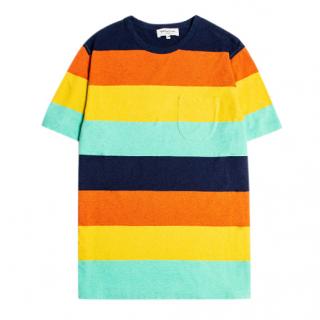 YMC Wild Ones Melange Stripe T-Shirt