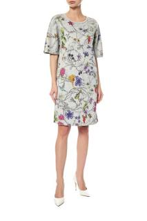 Escada floral print summer dress