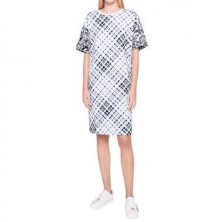 Escada french terry cotton dress