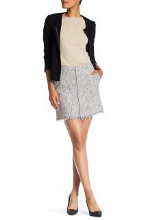 Theory Winsty Tweed Mini Skirt