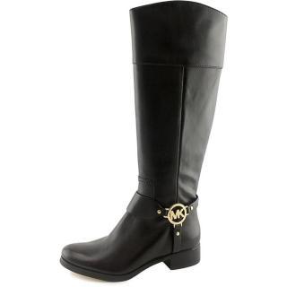 Michael Michael Kors black leather riding boots