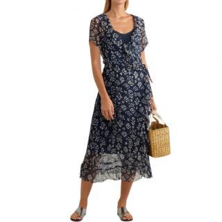 Cloe Cassandro Silk Chiffon Kimi Dress