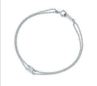 Tiffany & Co platinum solitaire diamond bracelet