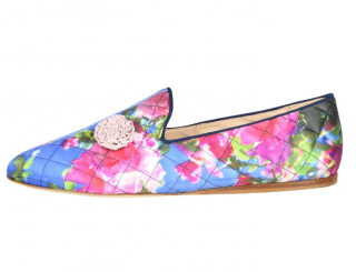 Anya Hindmarch Floral Jacquard Loafers