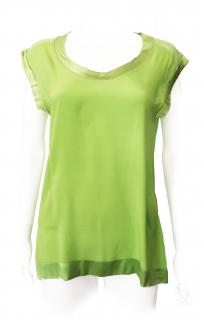 Missoni Lime Green Silk Top