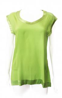 Missoni Lime Green Silk Top