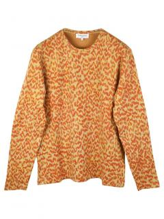 YMC leopard print sweatshirt