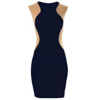 Stella McCartney Navy Illusion Mini Dress