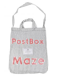 Anya Hindmarch PostBox Maze Striped Tote