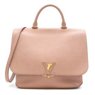 Louis Vuitton Taurillion Leather Rose Pink Volta Satchel Bag