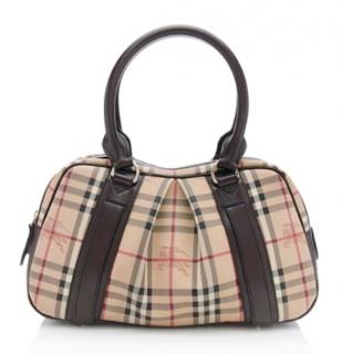 Burberry Haymarket check Ashbury Bag