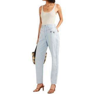J Brand x Elsa Hosk Pale Wash Limited Edition Jeans