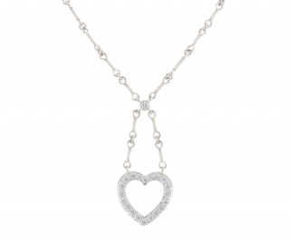 Tiffany & Co. Diamond Drop Pendant