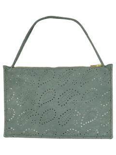 Shrimps Green Lasercut Bag