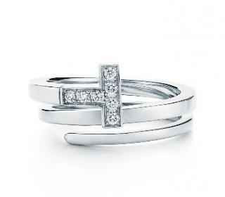 Tiffany T Diamond Square Wrap Ring