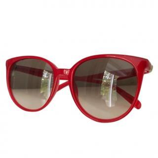 Celine Red 11VZ3 Mary Sunglasses
