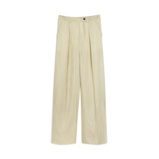Mulberry Bailey Striped Silk Trousers