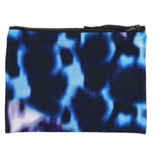 Erdem Printed Fabric Bleached Pouch