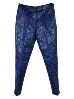 Markus Lupfer Tapered Jacquard Pants