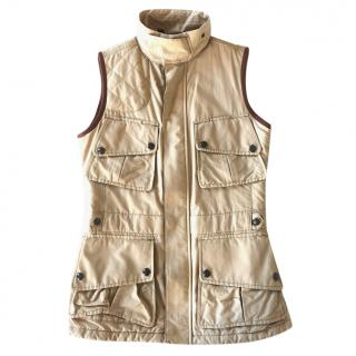 Ralph Lauren Blue Label Sleeveless Trench Gilet