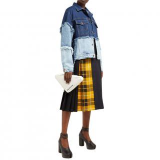 Natasha Zinko X Wrangler Layered Denim Jacket
