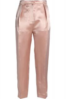Roksanda Gold SIlk Tapered Pants