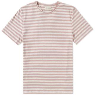 Oliver Spencer Conduit Tee in Capri Pink