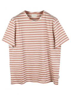 Oliver Spencer Conduit Tee in Capri Brown