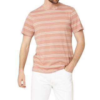 Oliver Spencer Austen Pink Conduit T-Shirt