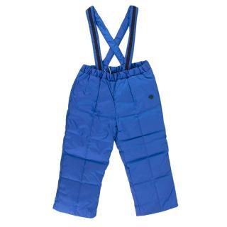 Gucci Blue Kid's 12/18m Salopettes