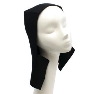 Miu Miu Black Wool Hood