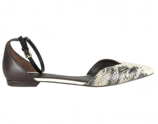 Tory Burch Snake Print Sandals