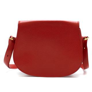 Cartier Red Must De Cartier Shoulder Bag