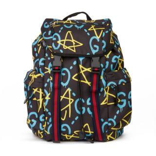 Gucci Ghost Grafitti Backpack