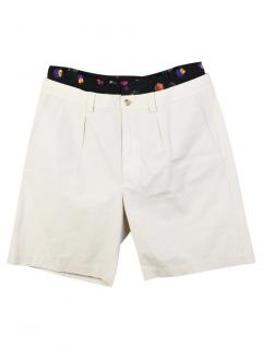 Christopher Kane white tailored shorts