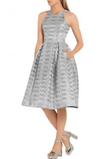 Mary Katrantzou Laguna Metallic Jacquard Dress.