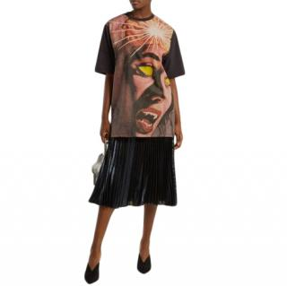 Christopher Kane Horror Print Oversize T-Shirt