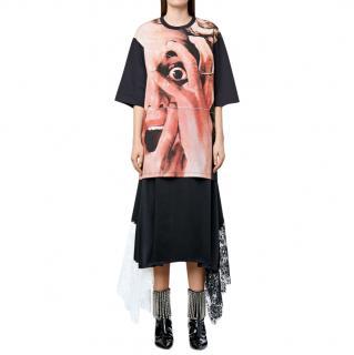 Christopher Kane scream print t-shirt