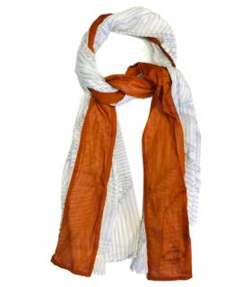 Hermes Colourblock Sail Print Scarf