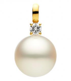 Paspaley Diamond Set South Sea Pearl Pendant