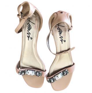 Lanvin Crystal Embellished Sandals
