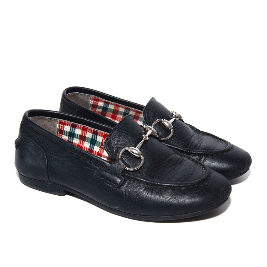 Gucci Children's Jordaan leather loafers