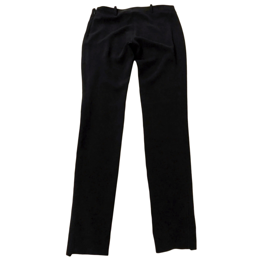 Balenciaga Black Slim Leg Pants