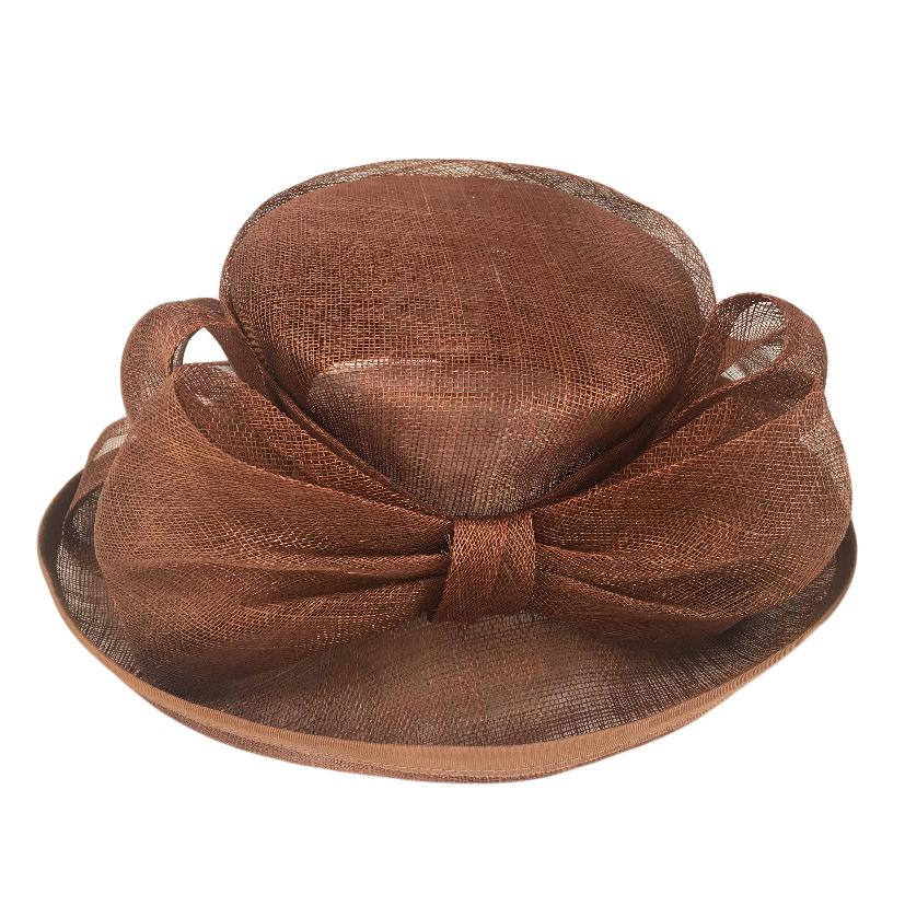 Mitzi Lorenz of London Vintage Brown Occasion Hat